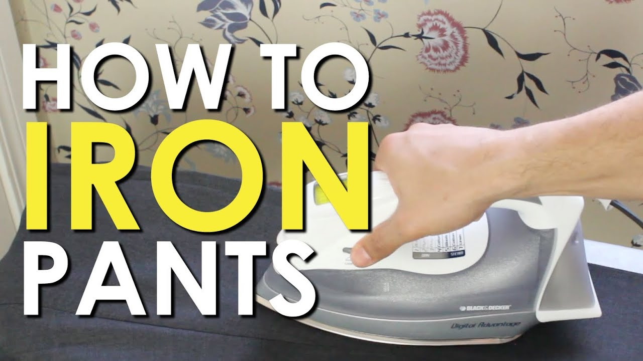 How to iron dress pants the art of manliness youtube ombrellifo Gallery