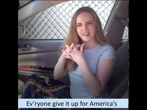 Darcy Rose Byrnes  Hamilton Broadway GUNS AND SHIPS  ASL cover