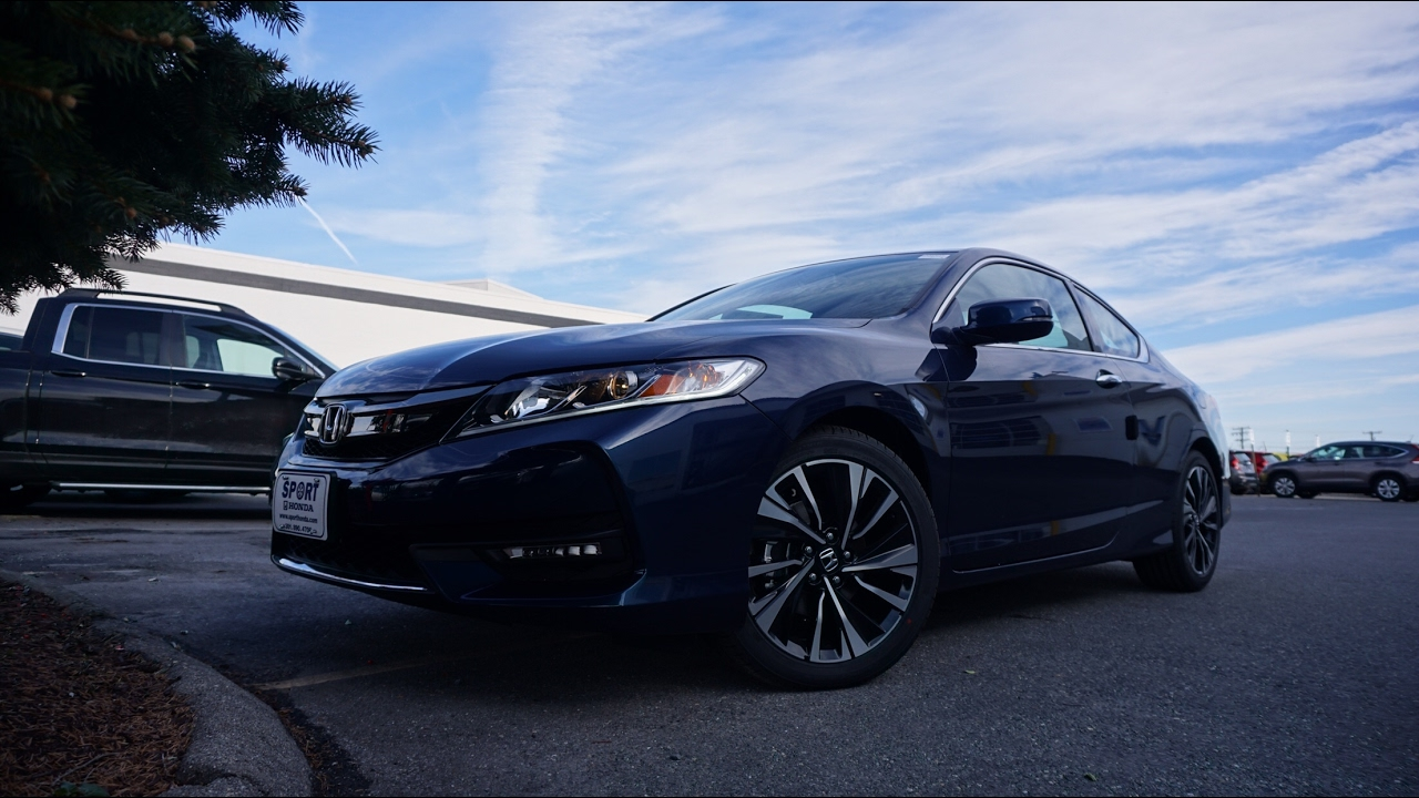 2017 honda accord coupe ex l v6 6at review youtube. Black Bedroom Furniture Sets. Home Design Ideas