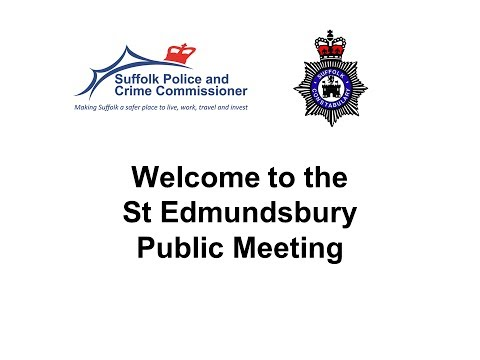 Suffolk PCC & Chief Constable Tour 2014 (St Edmundsbury) 7th May