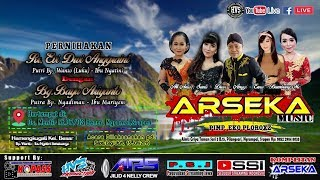Live Streaming Campursari ARSEKA MUSIC // ARS AUDIO JILID 4  // HVS SRAGEN CREW 01 MALAM MENTIR