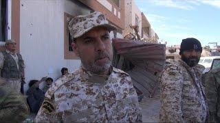 أخبار عربية - القوات المقاتلة في سرت تحرر 33 امراة من قبضة داعش