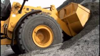 Video still for Introducing the Kawasaki Z7 Wheel Loader