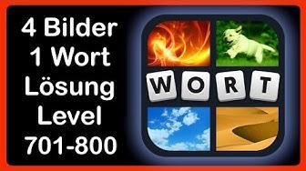 4 Bilder 1 Wort - Level 701-800 - Lösungen - Antworten