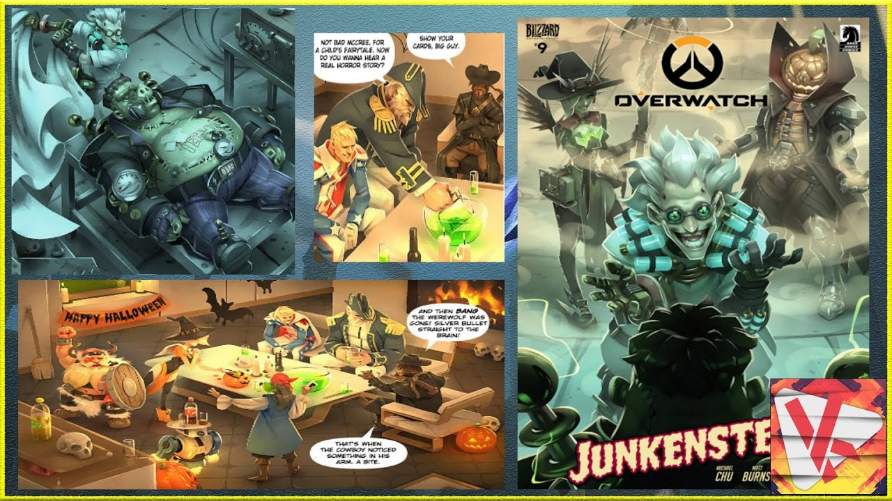 Halloween Skins In Junkenstein Overwatch Comic ? Pls Witch Mercy ...