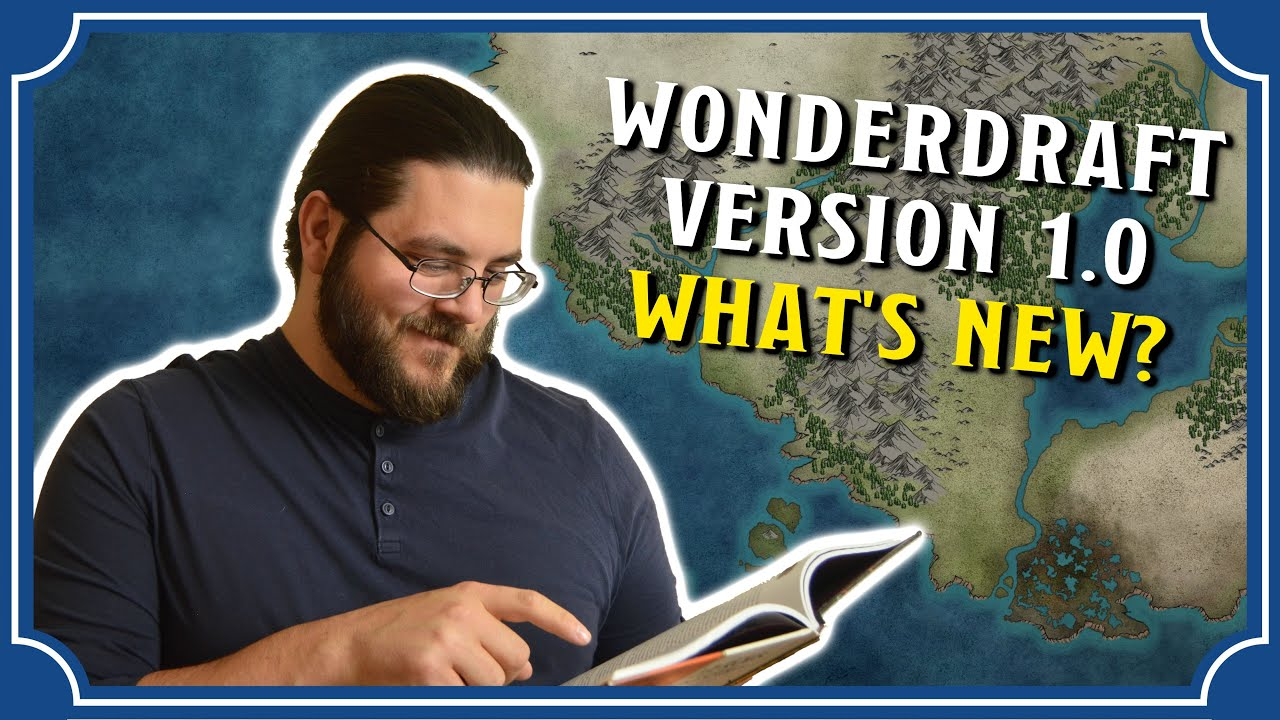Wonderdraft Tutorial - Version 1 0 Released | Icarus Games
