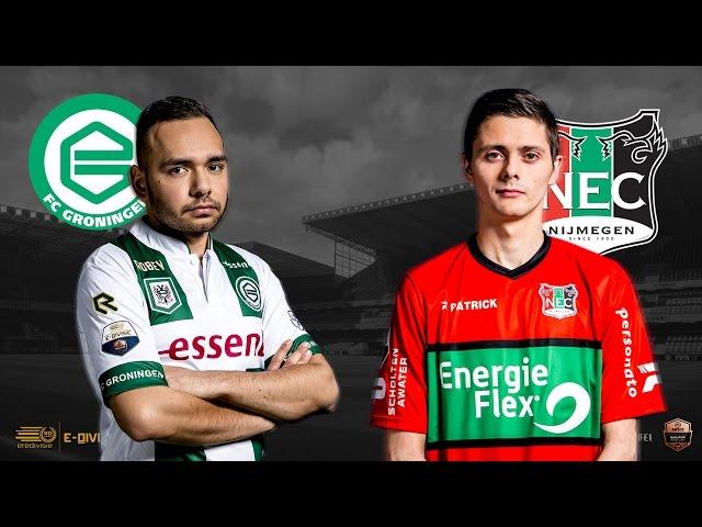 FC Groningen - N.E.C. Nijmegen | Speelronde 29 | E-Divisie