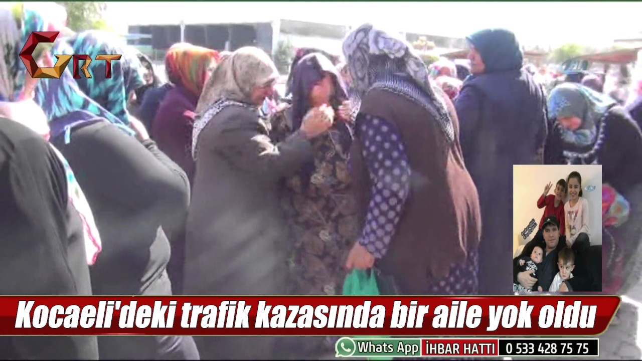 Kocaeli'deki trafik kazasında bir aile yok oldu