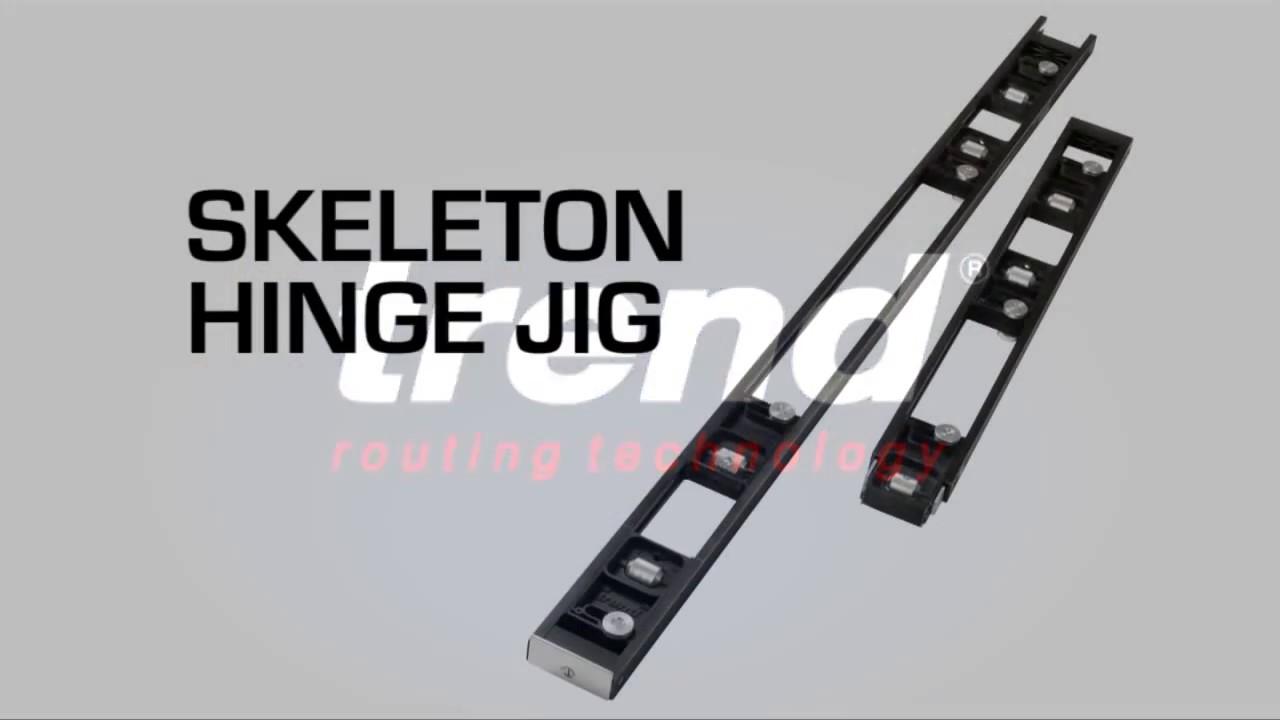 Trend - Skeleton Hinge Jig - YouTube