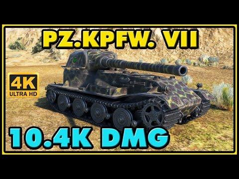 World Of Tanks | Pz.Kpfw. VII - 8 Kills - 10,4K Damage