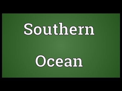 Southern Ocean Meaning