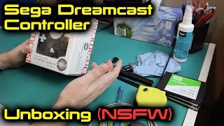 Sega Dreamcast Controller Unboxing (NSFW)