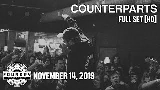 Counterparts - Full Set HD - Live at The Foundry Concert Club