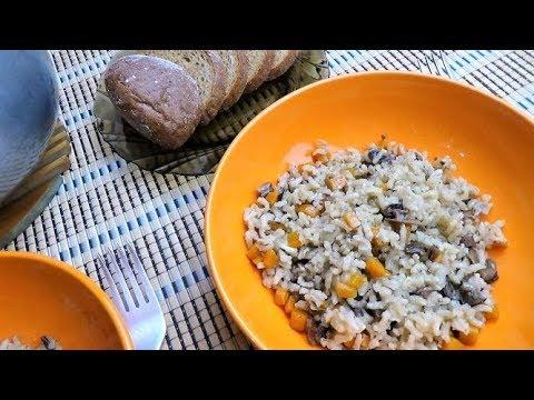 Как вкусно приготовить бурый рис на гарнир рецепт