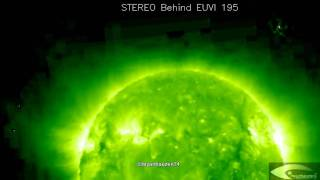UFO activity in the orbit of the Sun July 31, 2011