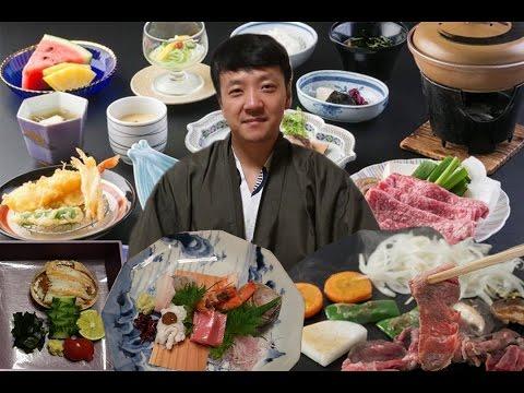 FIRST Time Trying KOBE BEEF STEAK! & EXPENSIVE Kaiseki Meal at Ryokan in Kobe Japan