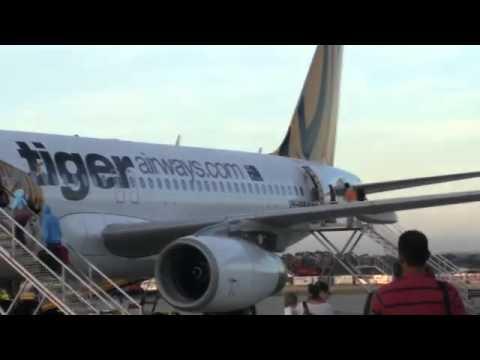 Boarding Tiger Airways