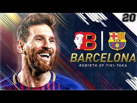 """EL CLASSICO TO WIN LA LIGA TITLE?!"" FIFA 18 Barcelona Career Mode EP 20"