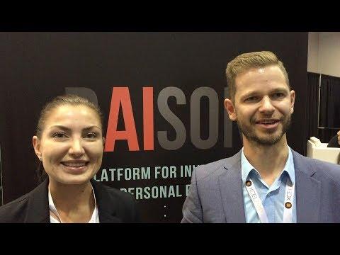RAISON Interview - @raison_ico - Blockchain Expo North America Santa Clara 2017