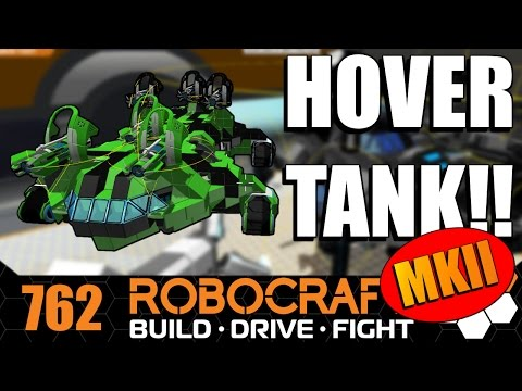Robocraft - New And Improved Hover Tank