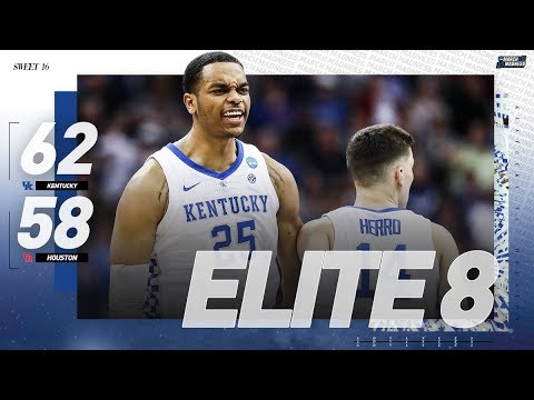 Kentucky vs. Houston: Sweet 16 NCAA tournament extended highlights