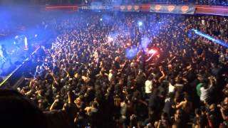 Anthrax en Chile 2013 INDIANS - Best Crowd Ever!!!