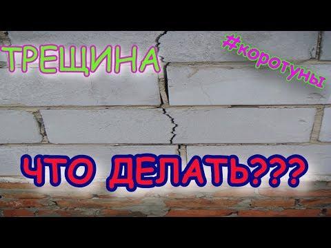 Трещина в стене Что делать?! коротун №17