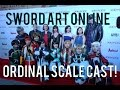 Meet the Sword Art Online Ordinal Scale Voice Cast