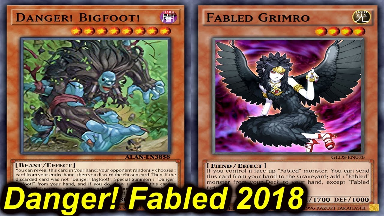 【YGOPRO】DANGER! FABLED DECK 2018 - YouTube