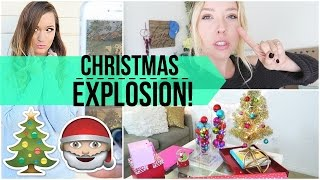 Christmas Explosion + Behind The Scenes Filming | Ashley Nichole