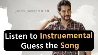 Ep 1:Guess the song by listening to the instrumental | Telugu Movie Quiz