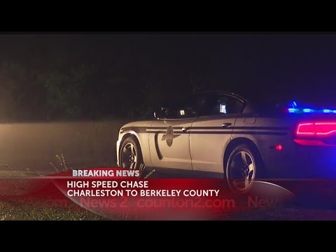 High speed chase Charleston to Berkeley County