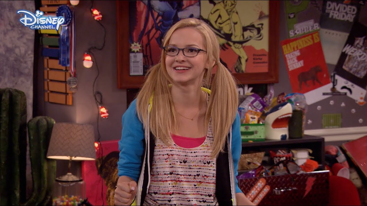 Liv and maddie joey and parker 39 s bedroom official for Room decor youtube channel
