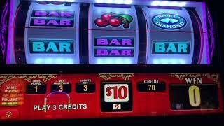 Triple Double Diamond - Tabasco - Pinball - High Limit Old School Slot Play