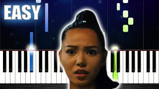 Bella Poarch - Build a B*tch - EASY Piano Tutorial by PlutaX
