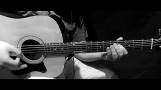 "Breaking Benjamin ""Without You"" Acoustic [Guitar Cover] HD"