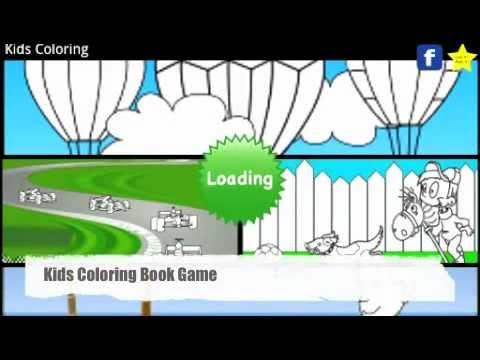 Kids Coloring Book Trailer