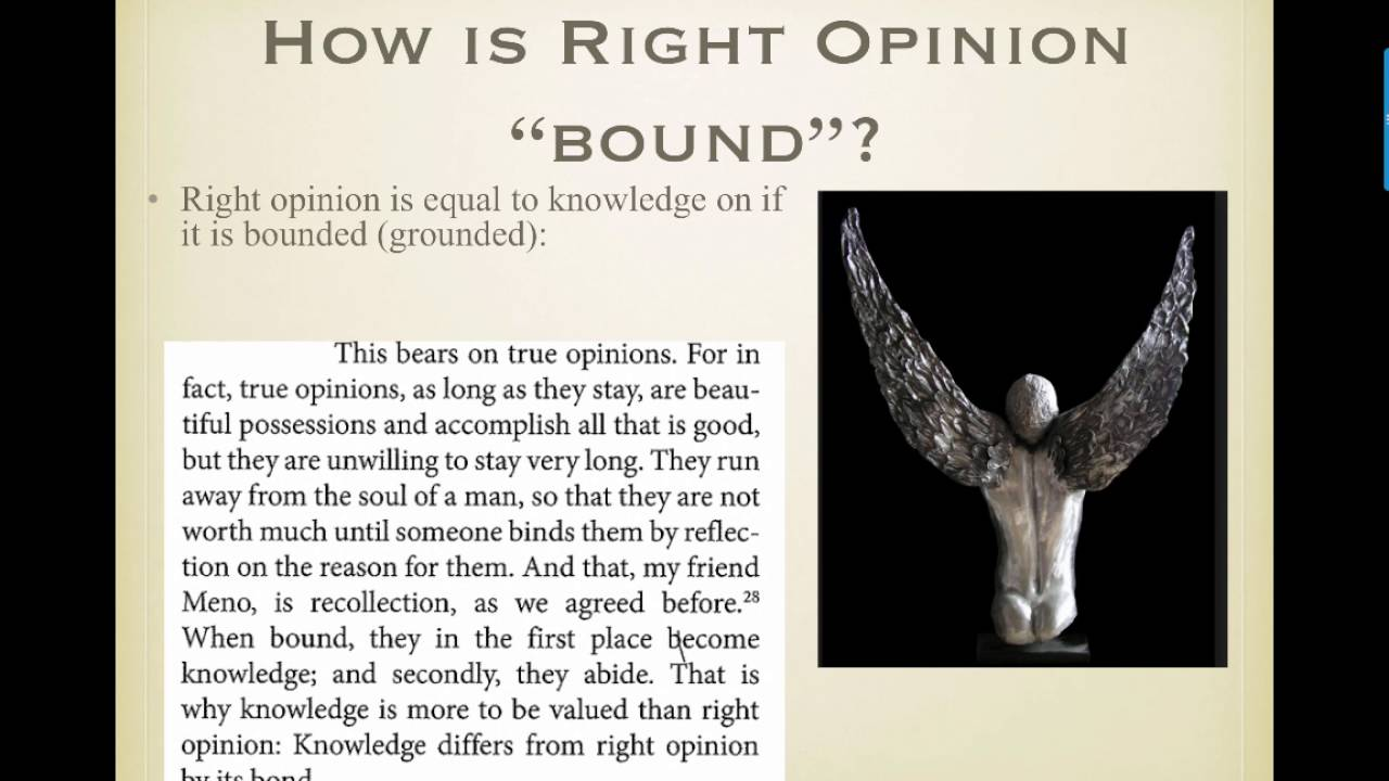 an analysis of virtue in menos paradox