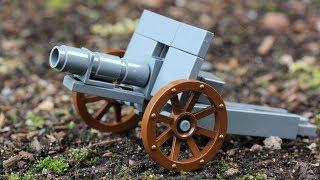 ليغو المعركة 1: مخصص الحرب العالمية 1 الميدانية عدة بندقية استعراض