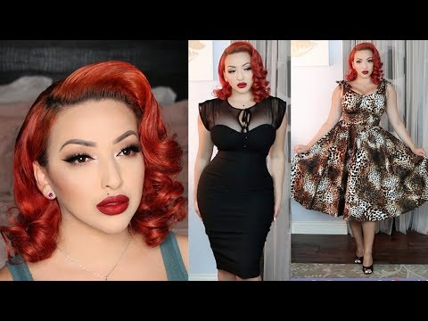PINUP HOLIDAY! | GRWM