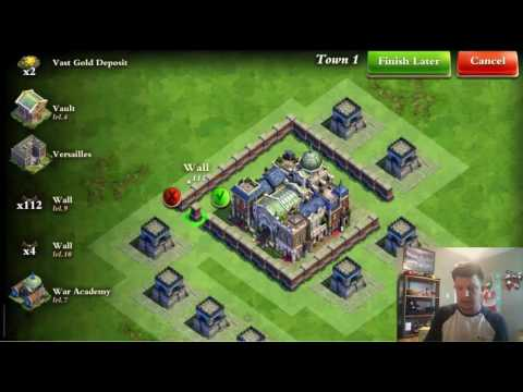 Dominations - 2 Layout tutorials, 1 Global, 1 Industrial