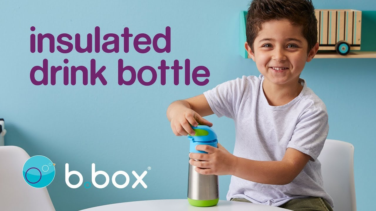b.box insulated drink bottle - keep kids cool