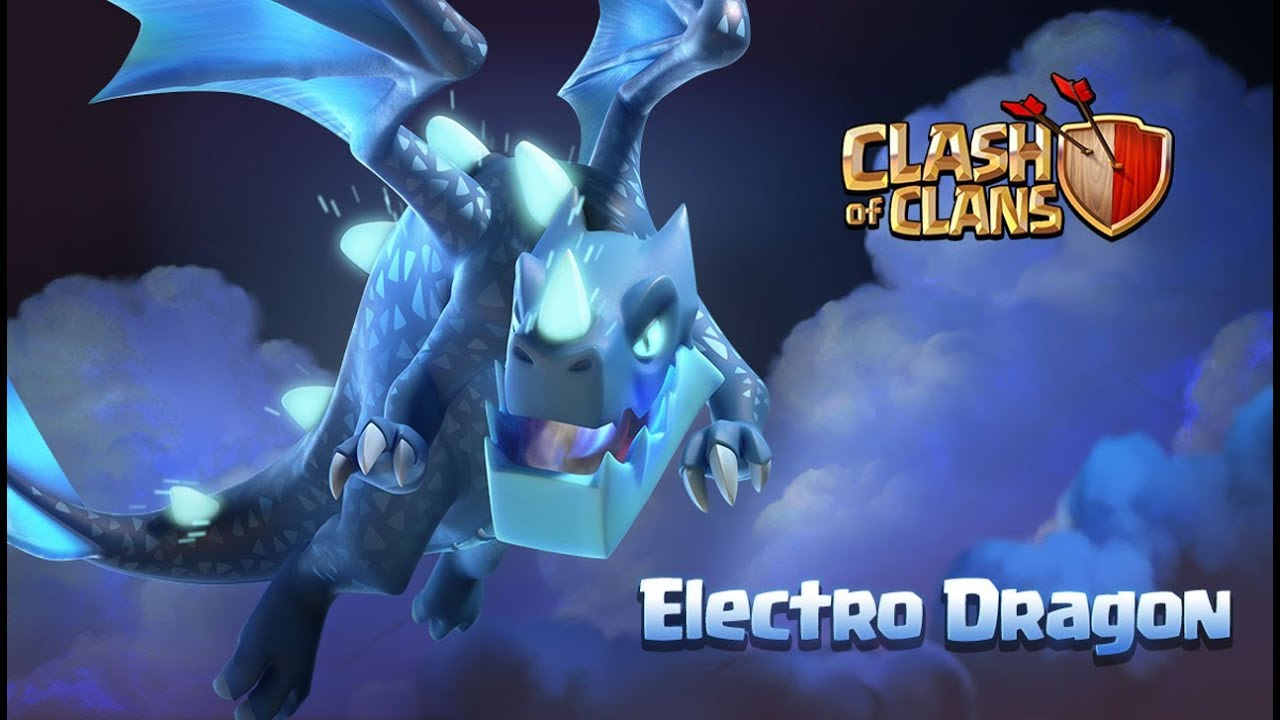 Meet The Electro Dragon Clash Of Clans Town Hall 12 Update
