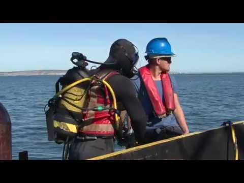 2016-10-14 Sunrise Eyon Barge Video Marine Installation MBM