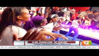 Elani perform My Darling for the first time LIVE with Jose Chameleone on 10 over 10