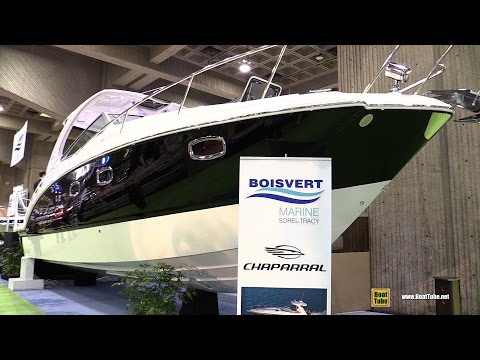 2015 Chaparral 330 Signature Motor Yacht - Walkaround - 2015 Montreal Boat Show