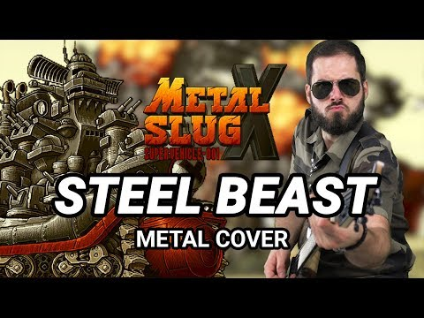 METAL SLUG  -  STEEL BEAST (BOSS THEME) - Epic Metal Remix By CelestiC