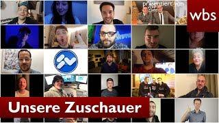 Das sind unsere Zuschauer! (Mit Rezo, WWW, MrWissen2Go, HerrNewstime uva.) | RA Christian Solmecke