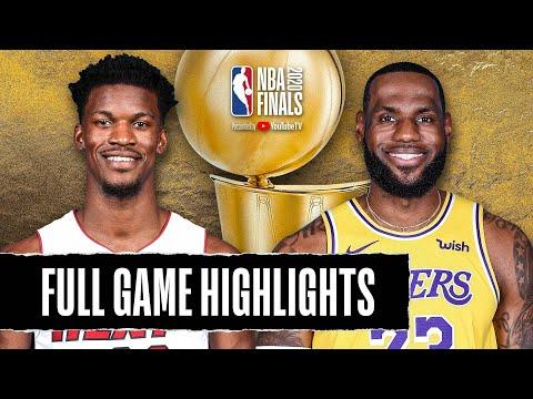 Los Angeles Lakers vs Miami Heat | October 9, 2020
