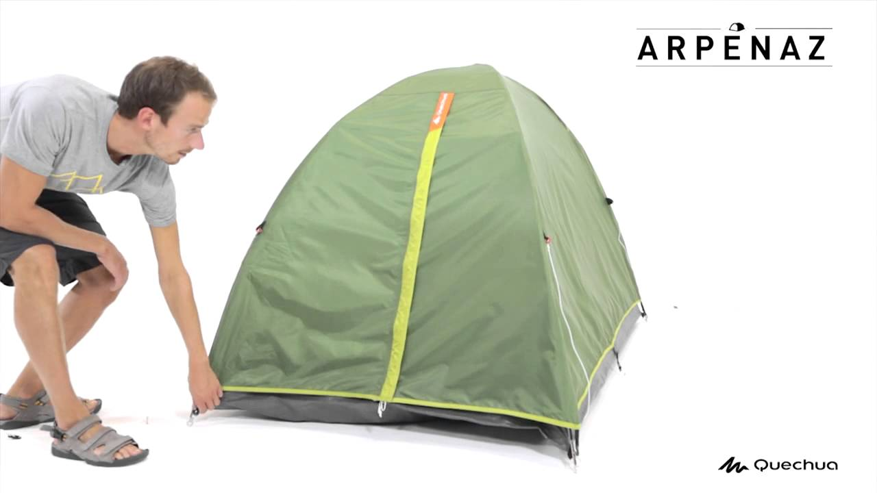 Arpenaz 2 Tent 2 people - Green  sc 1 st  YouTube & Arpenaz 2 Tent 2 people - Green - YouTube